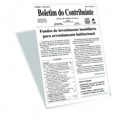 Boletim do Contribuinte - Papel + Internet